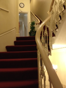 0113 Brompton a  Staircase in Hotel Bromton, London