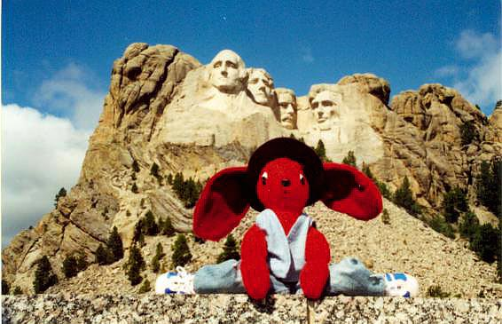 Stu at Mt Rushmore